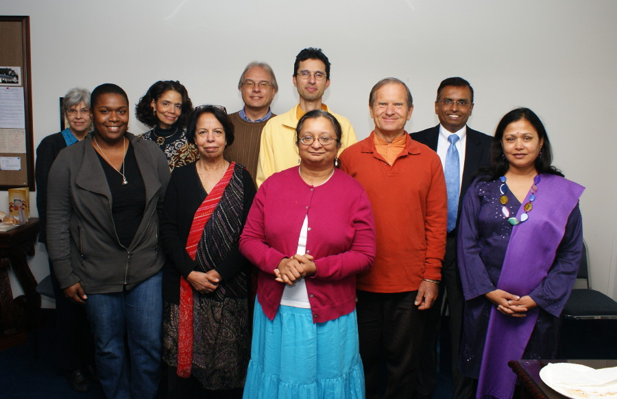 Monks Visit 2011
