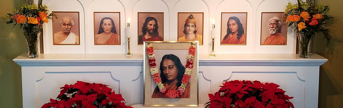 Detroit Center of Self-Realization Fellowship - Altar Photo